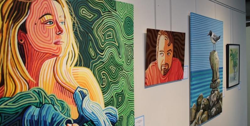 Gallery 4 Exhibit of the work of Carlie Pearce
