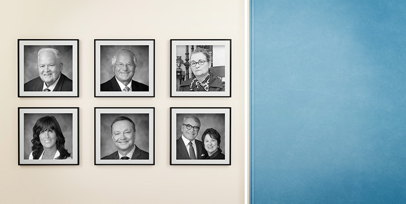 photos of 2017 inductees to the Hamilton Gallery of Distinction