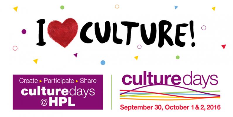 Culture Days at Hamilton Public Library