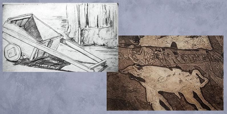 photos of pencil sketches