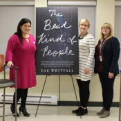 HPL staff at the Ancaster Meet the Author