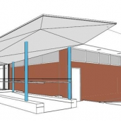 architect rendition of new Dundas branch