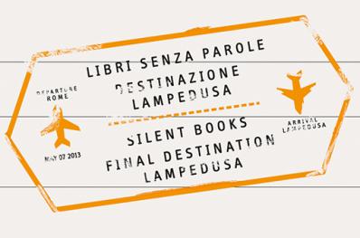 text: Silent Books FInal Destination Lampedusa