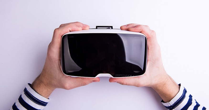 photo of 3d goggles