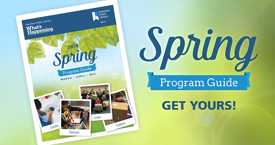 Get your Spring 2018 Program Guide today!