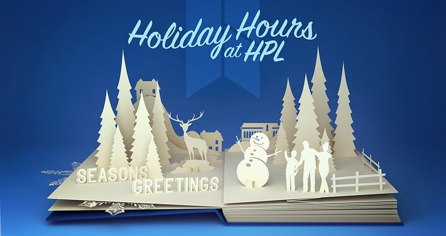 winter themed pop up book