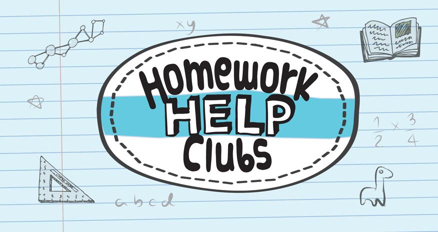 Homework help clubs